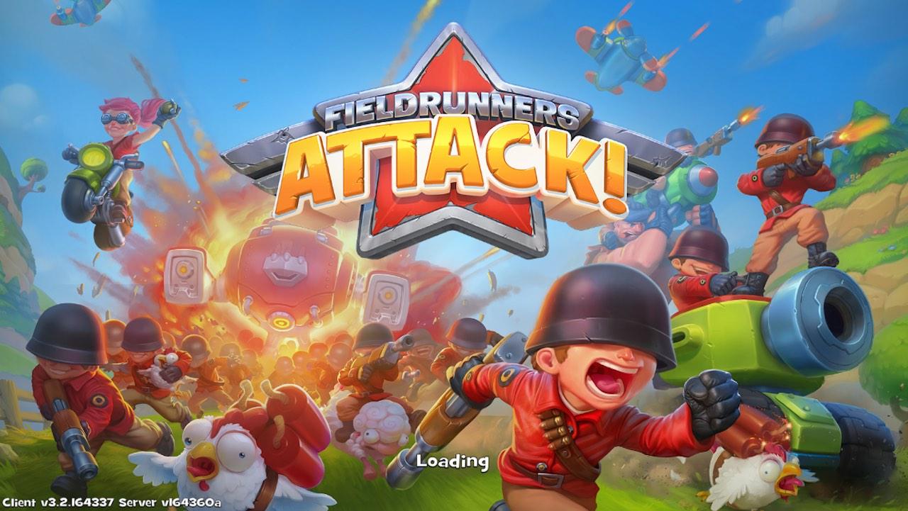fieldrunner attack 1 - Fieldrunner Attack đã ra mắt, phải đổi store để tải