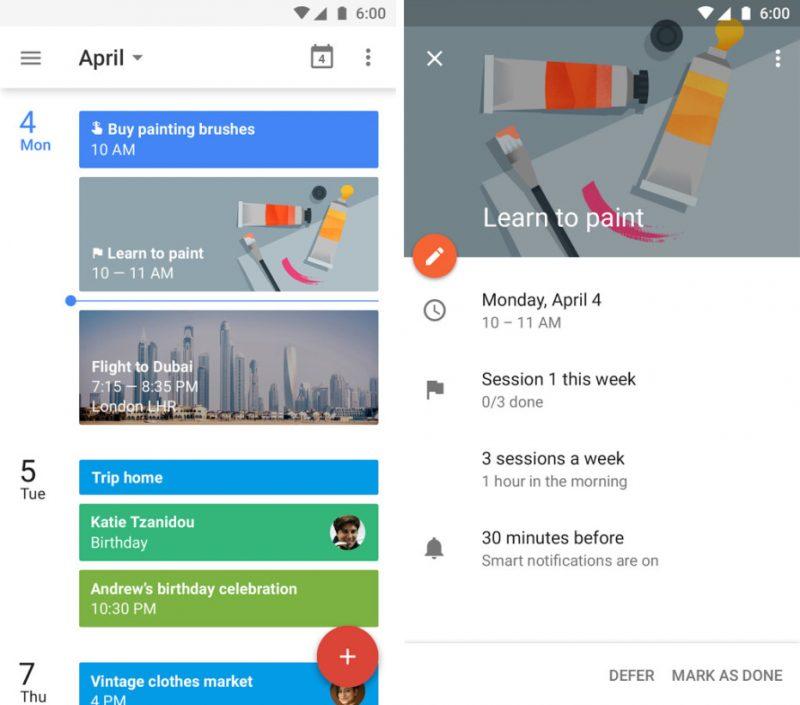 google-calendar-android