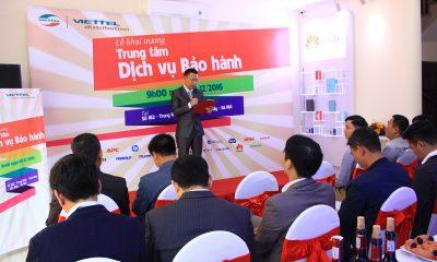 khai truong 13 400x240 - Khai trương Trung tâm Dịch vụ Bảo hành Viettel đầu tiên tại Hà Nội