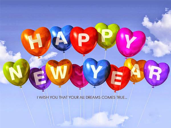 Những lời chúc năm mới bằng tiếng Anh