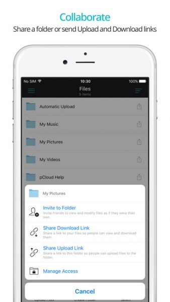 pcloud-for-ios