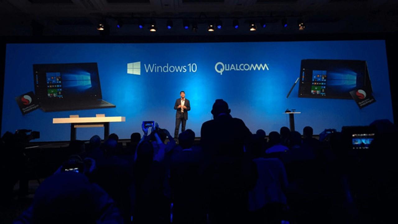 qualcomm phat trien chip snapdragon tren may tinh chay windows 10 - Sắp có máy tính Windows 10 dùng Qualcomm Snapdragon thế hệ kế tiếp