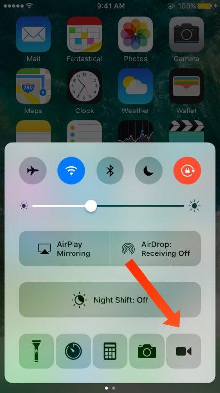 Quay màn hình iPhone bằng CCRecord