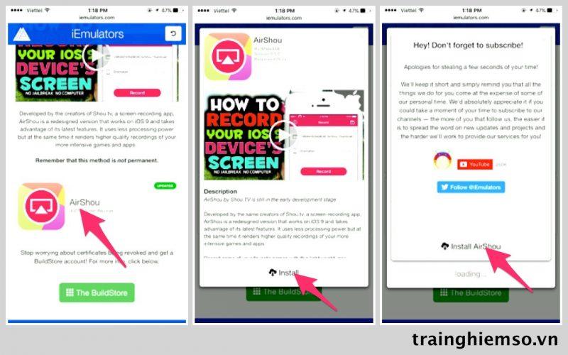 cach cai dat airshou 1 800x500 - Cách cài đặt và sử dụng AirShou cho iOS 10 chưa jailbreak (update: 15.4.17)