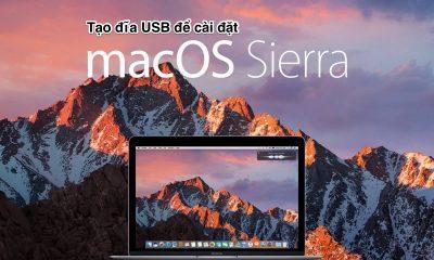macos sierra usb install featured 400x240 - Hướng dẫn tạo USB Boot cài đặt MacOX Sierra