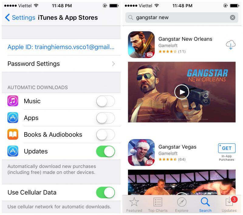 Tải Gangstar New Orleans cho iOS