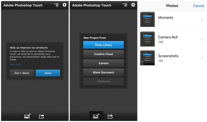 Hướng dẫn tải Photoshop Touch cho iPhone chưa jailbreak