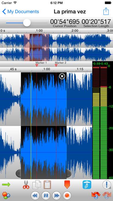 TwistedWave Audio Editor - Ứng dụng bản quyền hay cho iPhone miễn phí hôm nay
