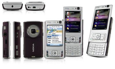 N95 1 400x240 - Nokia sẽ mang dòng điện thoại N-Series đến MWC 2017