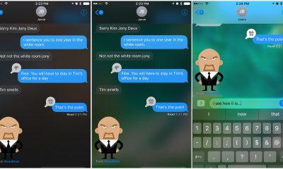 translucentmessage cho ios 10 featured 400x240 - Tweak hay cho iOS 10: TranslucentMessages, NoClose, RespringProgress