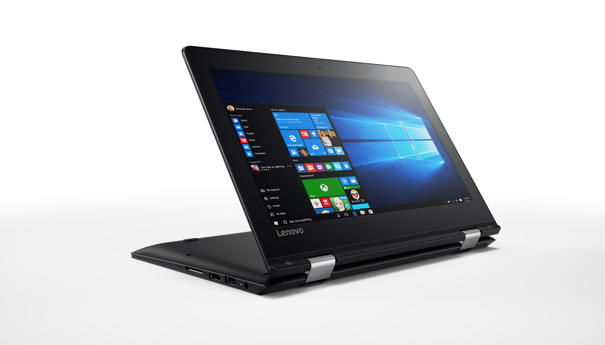 02 YOGA 310 Black Hero Shot Stand Mode 1 - Lazada giảm 1 triệu đồng cho laptop Lenovo Yoga 310