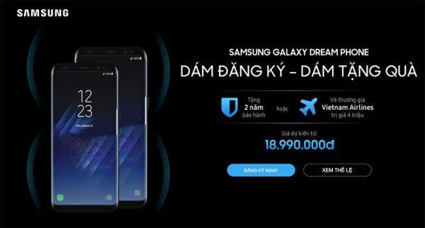 Galaxy S8 tại Việt Nam sẽ có giá từ 18,9 triệu đồng?