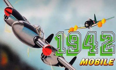 """1942 mobile featured 400x240 - Đánh giá game 1942 Mobile: """"Tuổi thơ ùa về"""""""
