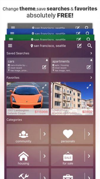 CPlus for Craigslist app for ios 338x600 - Tổng hợp 11 ứng dụng hay và miễn phí trên iOS ngày 09.03.2017