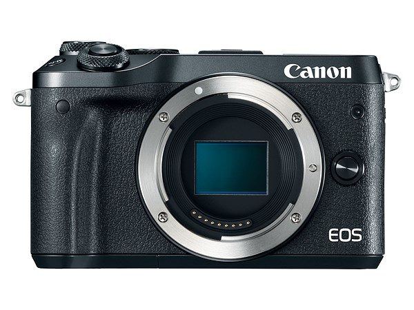 Canon EOS M6 - Máy ảnh không gương lật dùng chip lấy nét Dual Pixel CMOS AF