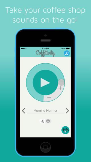 Coffitivity FOR IOS - Tổng hợp 16 ứng dụng hay và miễn phí trên iOS ngày 22.3.2017