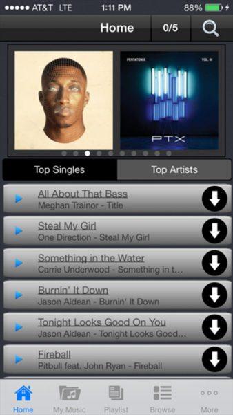 Freegal Music for ios 338x600 - Tổng hợp 9 ứng dụng hay và miễn phí trên iOS ngày 12.3.2017
