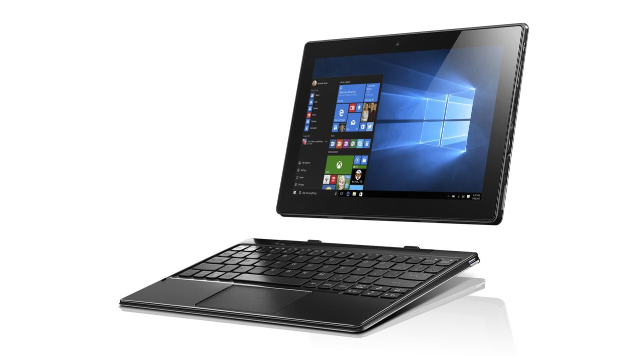 MIIX 310 07 W10 Laptop Mini Start 1 - Lenovo Miix 310: tablet 2-trong-1 có thể tách rời