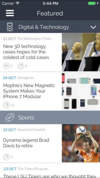 Newscron for ios 338x600 - Tổng hợp 11 ứng dụng hay và miễn phí trên iOS ngày 11.3.2017