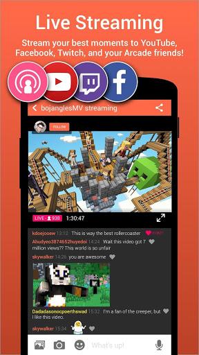 Omlet Arcade for android - Tổng hợp 5 ứng dụng hay và miễn phí trên Android ngày 1.4.2017