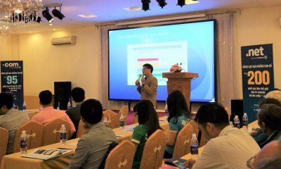 Ong Doan Quoc Tam Giam doc Cong ty FTC Media trinh bay ve loi ich cua t... 400x240 - Đẩy mạnh TMĐT sẽ giúp DN Việt Nam cạnh tranh