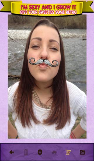 Retro Mustache Fun Photo Editor for ios - Tổng hợp 17 ứng dụng hay và miễn phí trên iOS ngày 29.3.2017