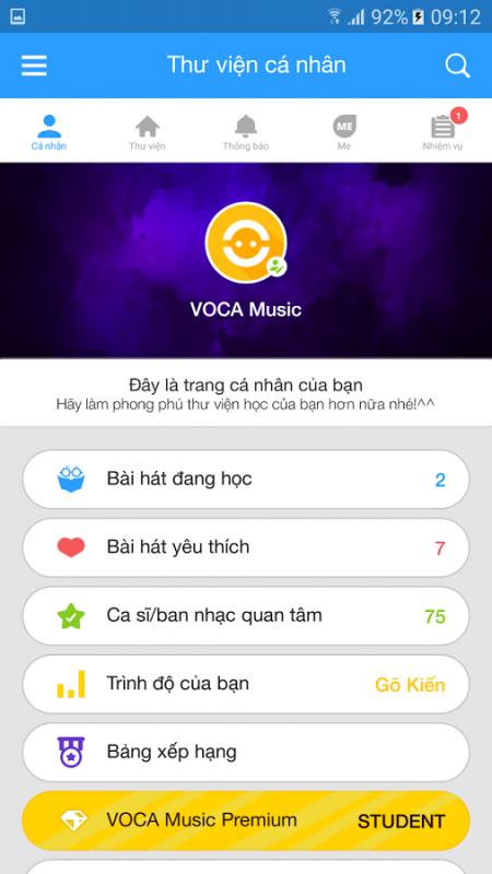 VOCA Music 450x800 - Tổng hợp 7 ứng dụng hay và miễn phí trên Android ngày 17.03.2017
