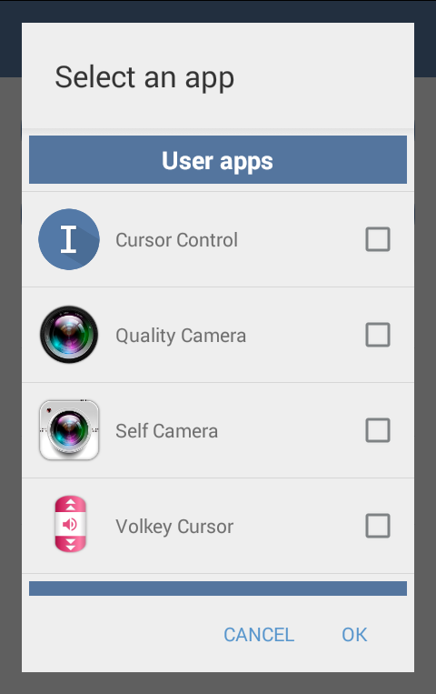 Volume Key Cursor Control - Tổng hợp 8 ứng dụng hay và miễn phí trên Android ngày 15.03.2017
