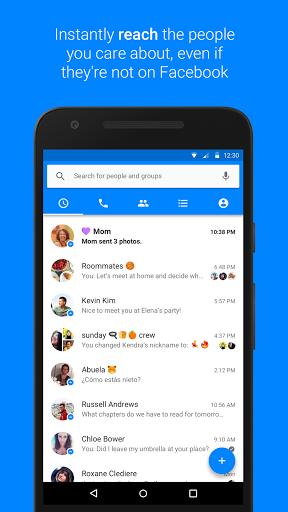 facebook messenger android - Tổng hợp 8 ứng dụng hay và miễn phí trên Android ngày 16.3.2017