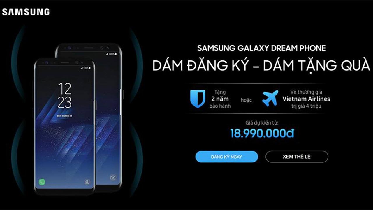 gia galaxy s8 - Galaxy S8 tại Việt Nam sẽ có giá từ 18,99 triệu đồng?