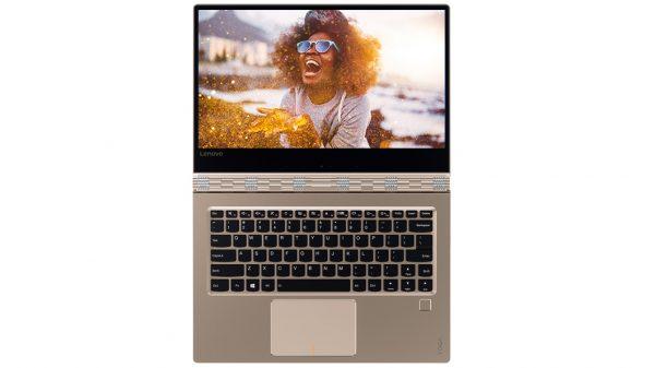 lenovo laptop yoga 910 13 gold open 9 600x337 - Laptop Lenovo Yoga 910 ra mắt, giá 44 triệu đồng