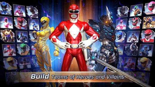 """power rangers legacy wars 1 - Đã có game """"Năm Anh Em Siêu Nhân"""" trên di động, cài chơi được"""