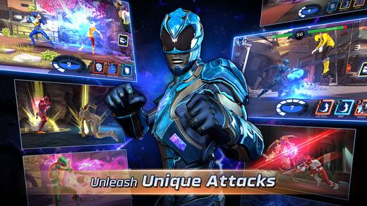 """power rangers legacy wars 2 - Đã có game """"Năm Anh Em Siêu Nhân"""" trên di động, cài chơi được"""