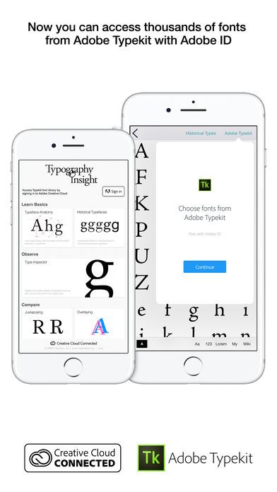 typography insight ios - Tổng hợp 21 ứng dụng hay và miễn phí trên iOS ngày 25.4.2017 (phần 2)