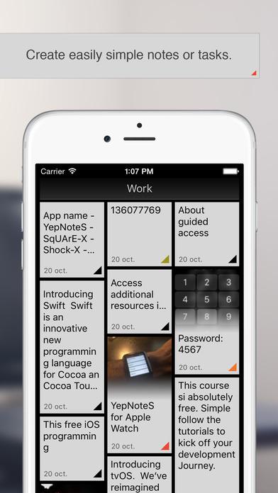 yepnotes ios - Tổng hợp 12 ứng dụng hay và miễn phí trên iOS ngày 08.03.2017