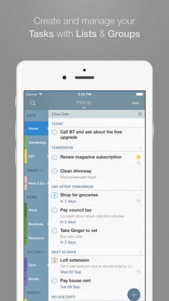 2Do for ios 338x600 - Tổng hợp 21 ứng dụng hay và miễn phí trên iOS ngày 25.4.2017 (phần 2)
