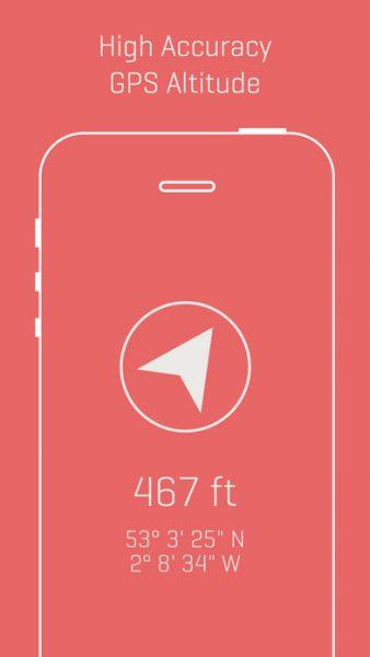 Alti Minimalist Travel Altimeter Compass 338x600 - Tổng hợp 21 ứng dụng hay và miễn phí trên iOS ngày 20.4.2017 (phần 2)