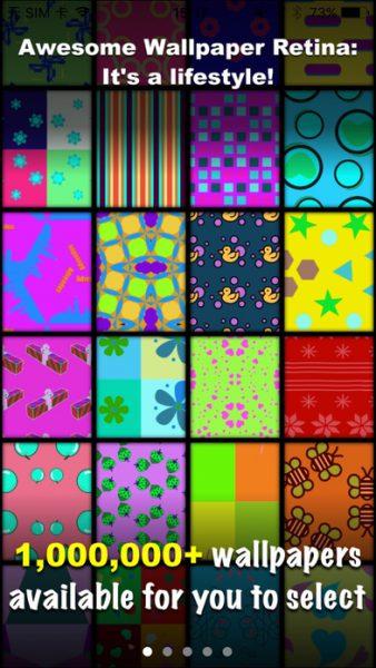 Awesome Wallpaper for ios 338x600 - Tổng hợp 26 ứng dụng hay và miễn phí trên iOS ngày 12.4.2017 (phần 2)