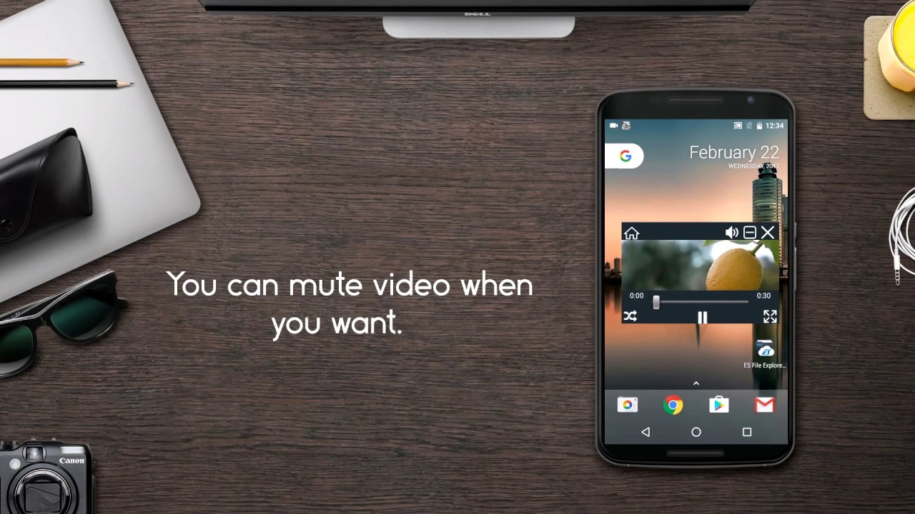 "Float Tube Video Player Featured - Float Tube Video Player: Vừa xem YouTube vừa lướt Facebook ""vi vu"""