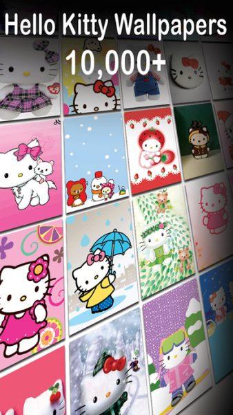 Hello Kitty HD Wallpapers Latest Collection for ios 338x600 - Tổng hợp 21 ứng dụng hay và miễn phí trên iOS ngày 23.4.2017 (phần 2)