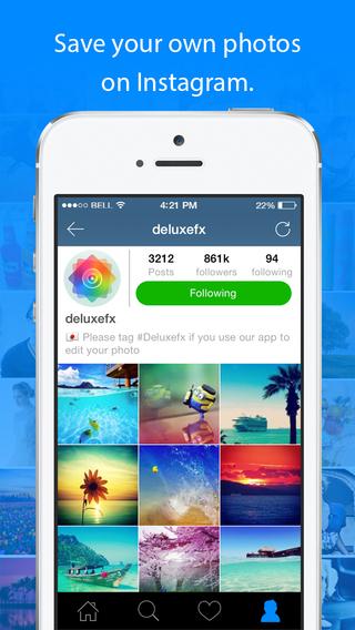 InstaSave for Instagram for ios - Tổng hợp 21 ứng dụng hay và miễn phí trên iOS ngày 16.4.2017 (phần 2)