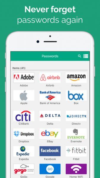 Password Boss for ios 338x600 - Tổng hợp 21 ứng dụng hay và miễn phí trên iOS ngày 20.4.2017 (phần 2)