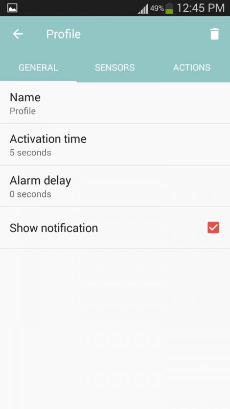 """Screenshot 2017 04 02 12 45 58 450x800 - Trang bị chức năng báo động cao cấp và miễn phí cho """"dế yêu"""""""