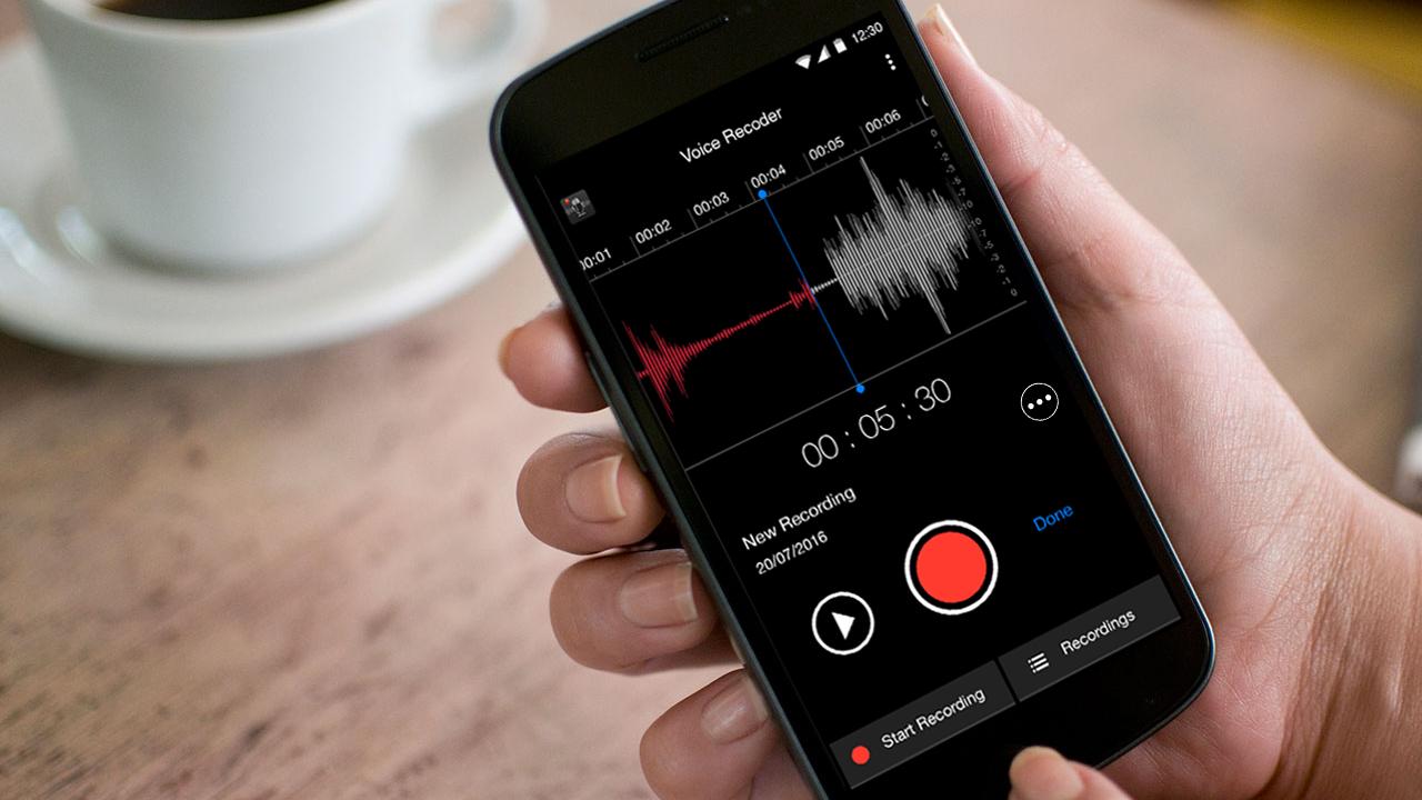 Sound Recorder Featured - Background Sound Recorder: Ghi âm cuộc gọi, buổi trò chuyện dễ dàng
