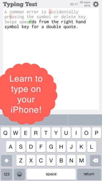 TapTyping for ios 338x600 - Tổng hợp 26 ứng dụng hay và miễn phí trên iOS ngày 13.4.2017 (phần 2)