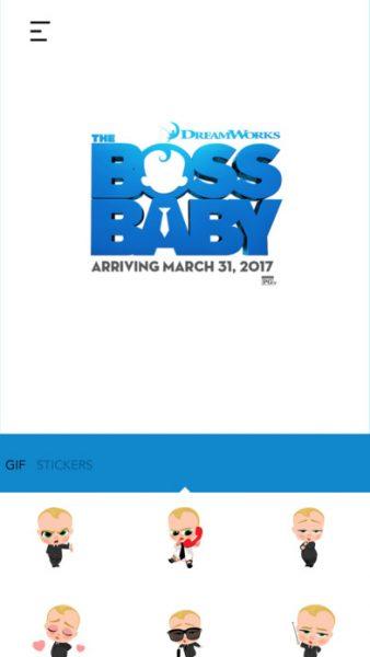 The Boss Baby Stickers for ios 1 338x600 - Tổng hợp 21 ứng dụng hay và miễn phí trên iOS ngày 5.4.2017 (phần 2)
