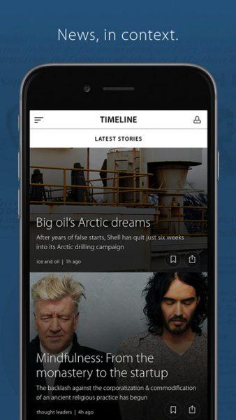 Timeline for ios 338x600 - Tổng hợp 21 ứng dụng hay và miễn phí trên iOS ngày 25.4.2017 (phần 2)