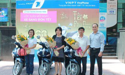 """Tong hop 2 400x240 - VNPT VinaPhone HCM trao thưởng chương trình """"Lộc xuân mỗi ngày, xe sang đón Tết"""""""