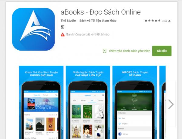 aBooks 2 600x459 - aBooks: Đọc sách, truyện online miễn phí trên Android