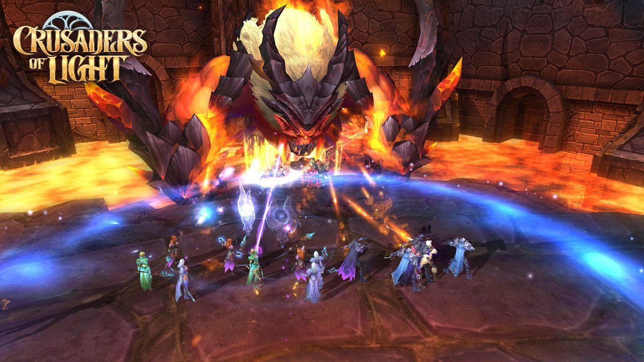 crusaders of light - Mời trải nghiệm Crusaders of Light - MMORPG 3D phong cách WoW chất lừ